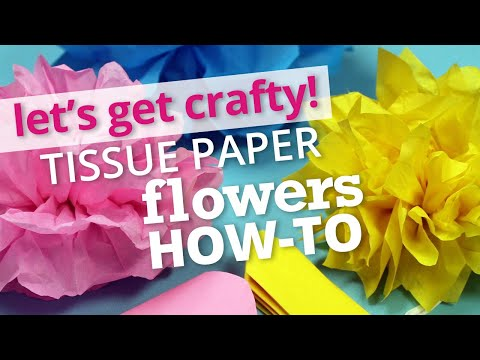 How To Make Tissue Paper Flowers Nashville Wraps Youtube