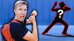 CWC vs HACKER in Real Life NINJA BATTLE ROYALE Exploring Secret Hidden Abandoned Backyard Challenge
