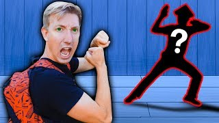 I FIGHT HACKER in Real Life NINJA BATTLE ROYALE Exploring Secret Hidden Abandoned Backyard Challenge