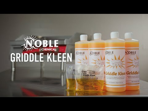 Noble Chemical Griddle Kleen: How To Clean A Griddle