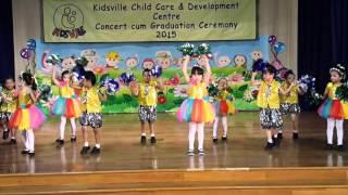 Kidsville Child Care  Annual Concert Cum 2015 Sg