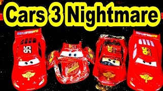 Pixar Cars 3 Lightning McQueen Crushed in a Vise in our Cars 3 Trailer Parody