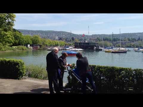 Park and River Zurich Switzerland