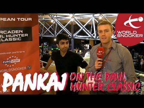 Pankaj Advani at the Paul Hunter Classic in Furth