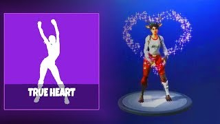 NEW TRUE HEART EMOTE DANCE LEAKED - FORTNITE BATTLE ROYALE