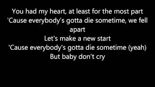 Avenged Sevenfold - A Little Piece Of Heaven [Lyrics]
