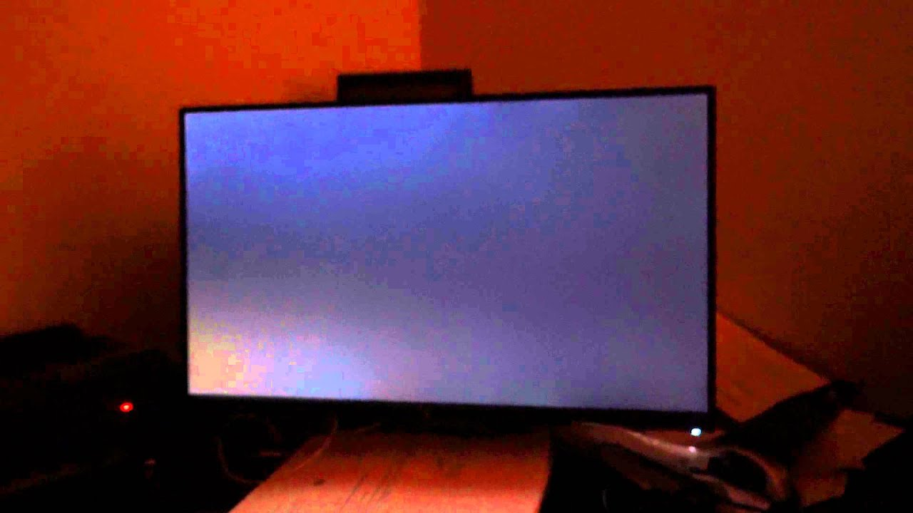 how to fix backlight bleeding on monitor