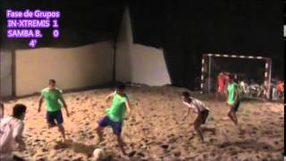 FUTBOL PLAYA CASPE 2013: IN-XTREMIS vs SAMBA BEACH