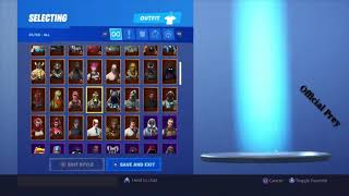Fortnite account giveaway at 899 subscribers| Dexterlty