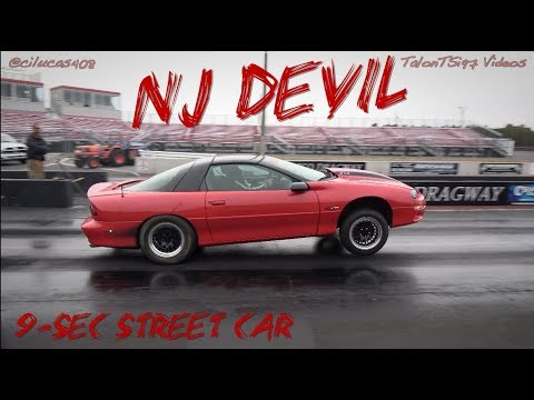THE JERSEY DEVIL IS REAL! 9-sec Street Car Nitrous Camaro