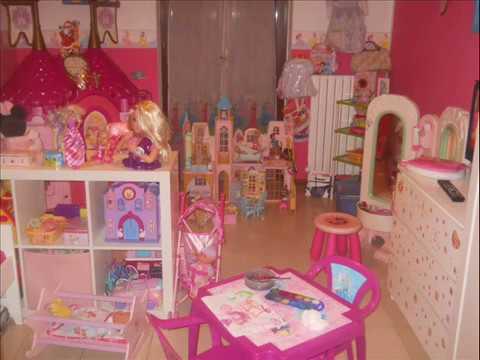 Meravigliose camerette da principessa disney per bambine emmy