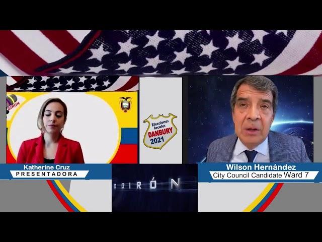 Radio Giron: Elecciones locales Danbury 2021 con Wilson  Hernandez 20 de Sep. 2021