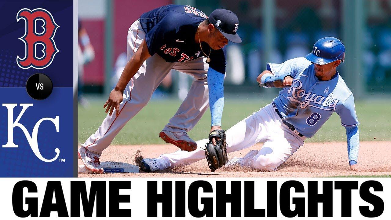 Download Red Sox vs. Royals Game Highlights (6/20/21) | MLB Highlights