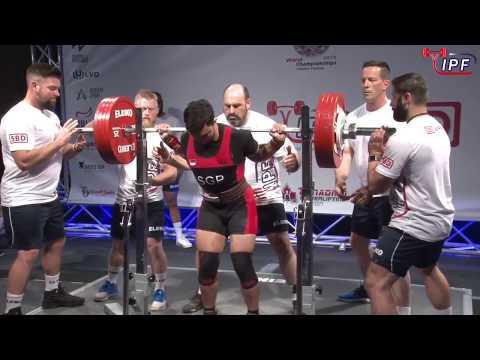 Men Open, 83 kg - World Classic Powerlifting Championships 2018