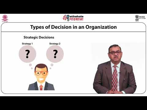 MIS support for Decision Making