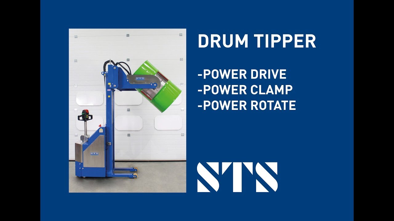 Electric Fully Powered Drum Tipper (Model: STE05-RRH01)