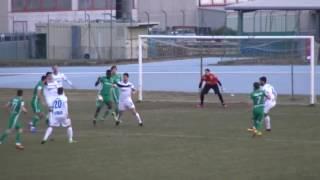 Терек- Горица -0-1. Обзор матча