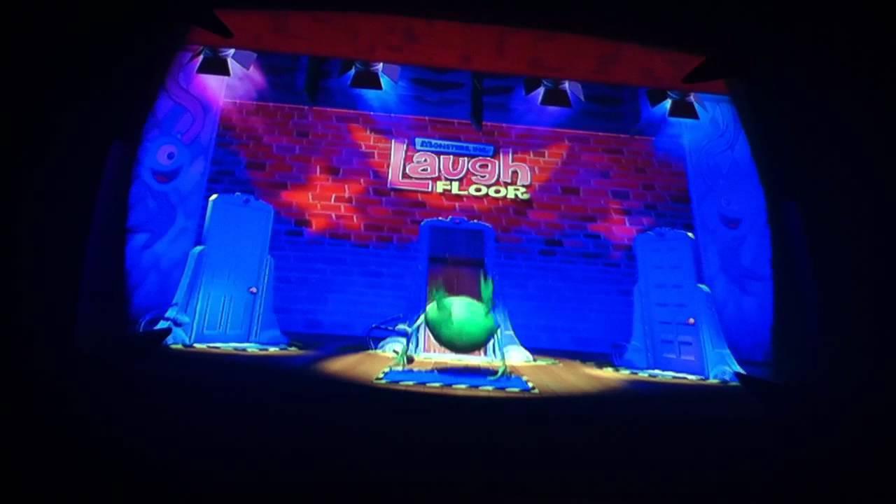The Laugh Floor Full Pre Show Before Entering Theatre