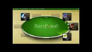 Ridiculous bad beats on PartyPoker