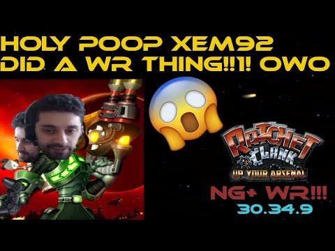 [World Record] Ratchet and Clank: Up Your Arsenal NG+ in 30:34