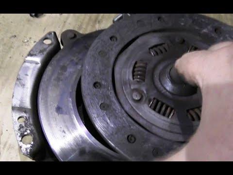 ВАЗ-1118 Калина. Замена сцепления.