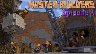 Minecraft l Master Builders #1 l Pixel Art Penis FTW