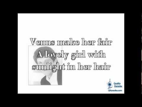 Frankie Avalon - Venus (Karaoke Instrumental) w/ Lyrics