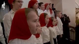Патриарх Кирилл совершил Божественную литургию в храме св. мученицы Татианы в МГУ