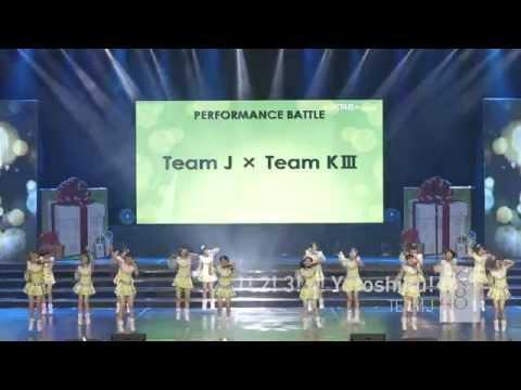 JKT48 3rd Anniversary Concert Team Battle JKT48 Team J - 1! 2! 3! 4! Yoroshiku!