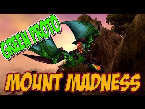 "Ravenclaw - ""Green Proto Drake - Mount Madness WoD 6.2.3 Mount Guide"