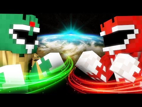 POWER RANGERS TRAINING - Minecraft - Видео из Майнкрафт (Minecraft)