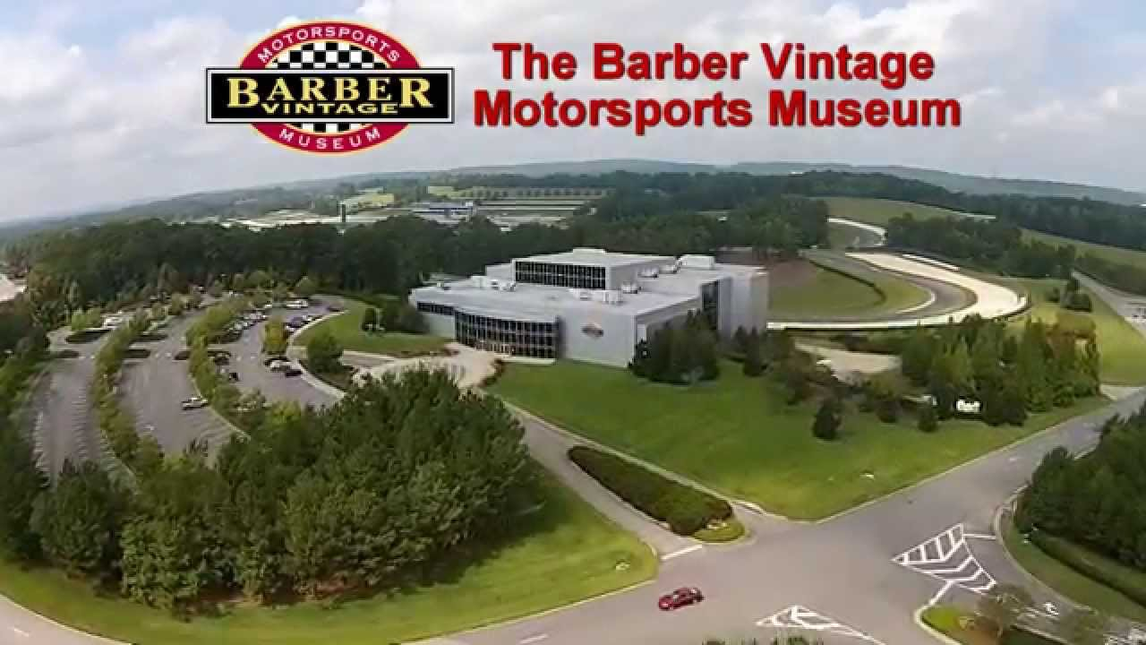 Barber Motorsports Park >> Barber Motorsports Park by air - YouTube