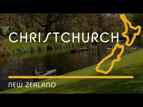 Christchurch, New Zealand (city overview, English Subtitles)