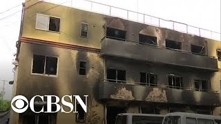 Investigation into Japanese anime studio fire