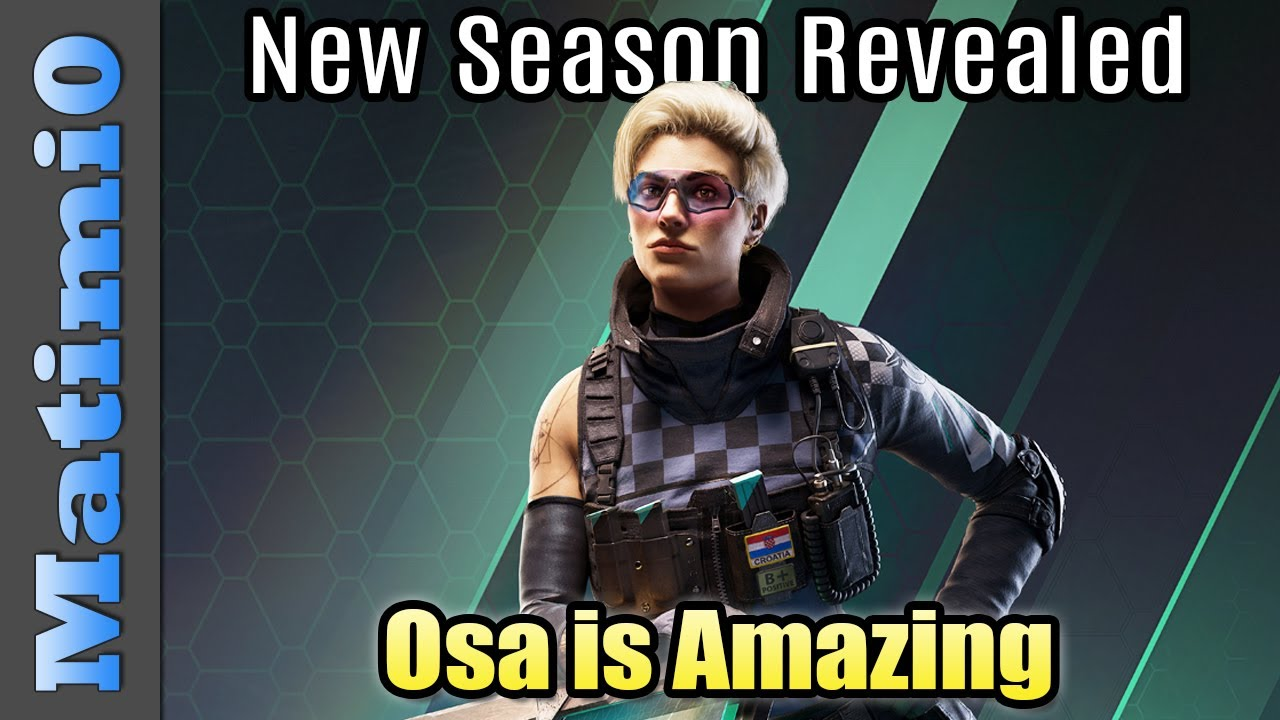 Download New Operator Osa is Amazing - Rainbow Six Siege - Crystal Guard Revealed