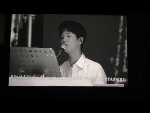 (170113) PARK BO GUM SINGING UNTUKKU BY CHRISYE - FAN MEETING IN JAKARTA - OH HAPPY DAY