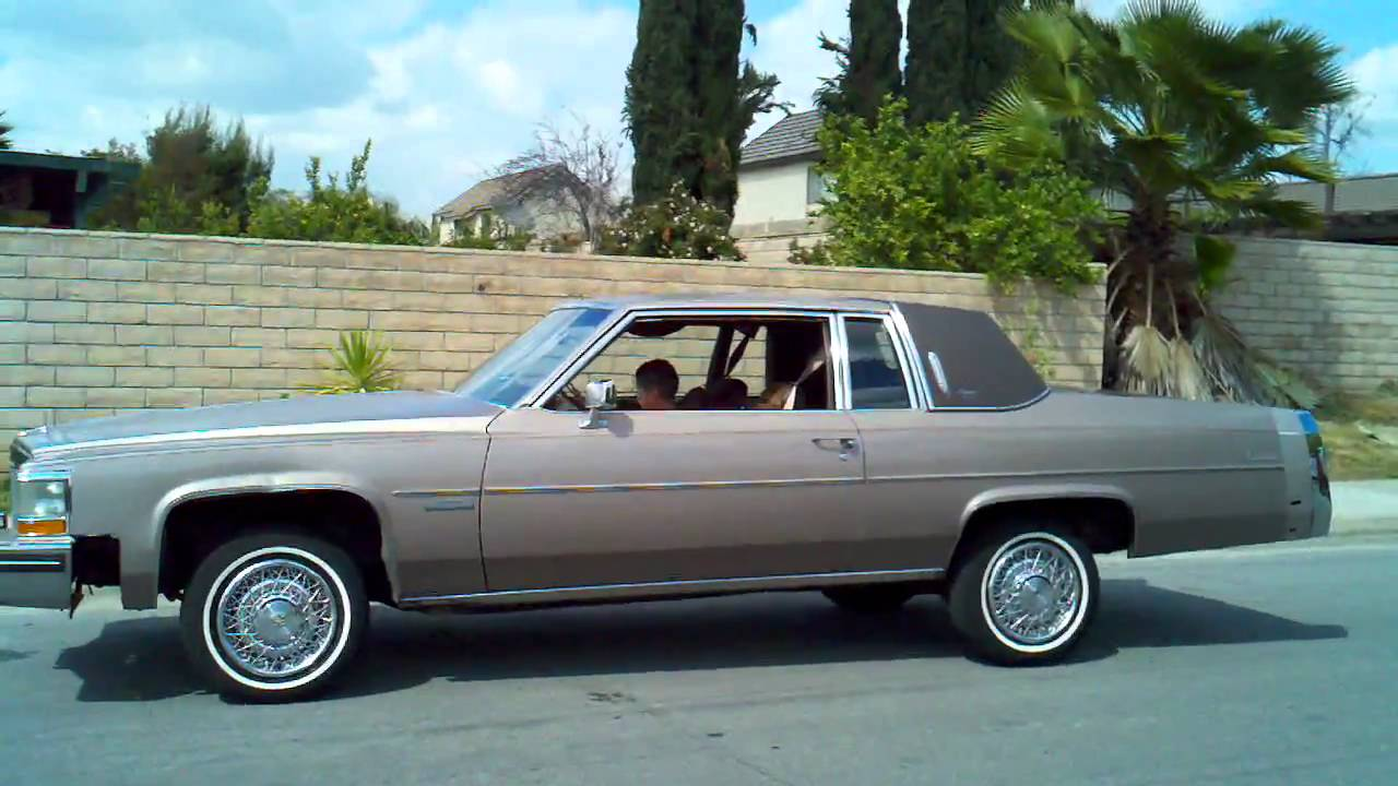 83 caddy coupe deville 8 yr. Old hitting switches - YouTube