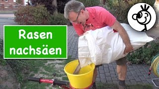 Rasen nachsäen - 5 Schritte (Teil 2)