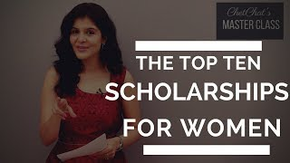 Top 10 International Scholarships for Women to Study Abroad | How to Study Abroad for Free