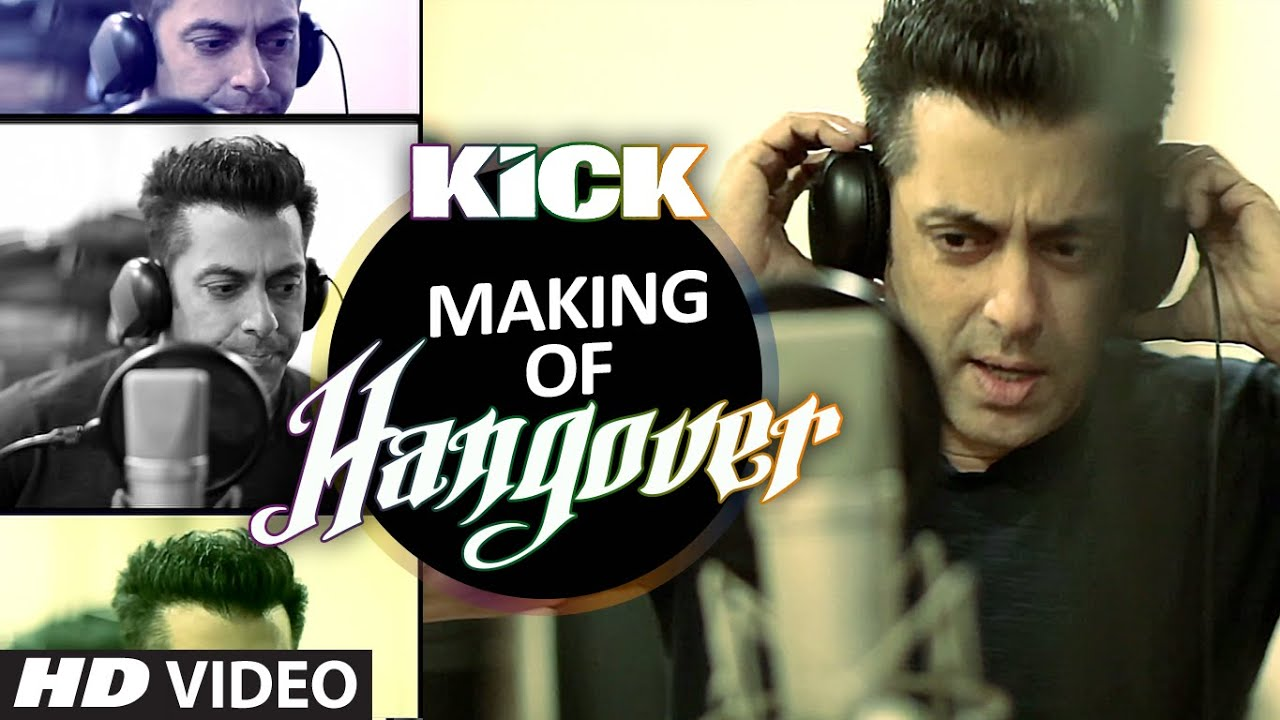 making of hangover song salman khan kick meet bros anjjan photo