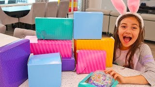 Hailey and Hidden Surprise Toys Presents