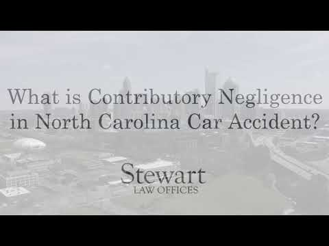 What Is Contributory Negligence in Car Accidents? - Charlotte, NC - Stewart Law Offices