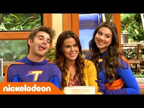 Грозная семейка | На съёмочной площадке финальной сцены ???? | Nickelodeon Россия