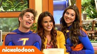 Грозная семейка | На съёмочной площадке финальной сцены 🎬 | Nickelodeon Россия