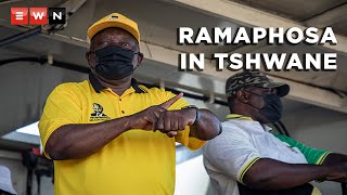 As the country heads towards the local government elections on 1 November 2021, ANC president Cyril Ramaphosa hit the campaign trail. On 15 October 2021 he and members of the governing party visited various wards in the Tshwane metro, but not everyone had good words to say about the party.