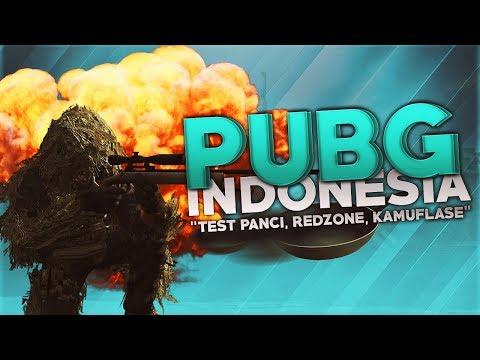 """PUBG Indonesia - """"Test Panci, Redzone, Kamuflase"""""""