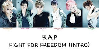 B.A.P - Fight For Freedom (Intro)