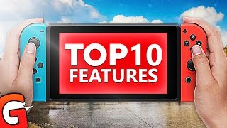 Top 10 BEST Features on the Nintendo Switch!