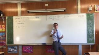 Equations & Inequalities (1 of 2: What are equations?)