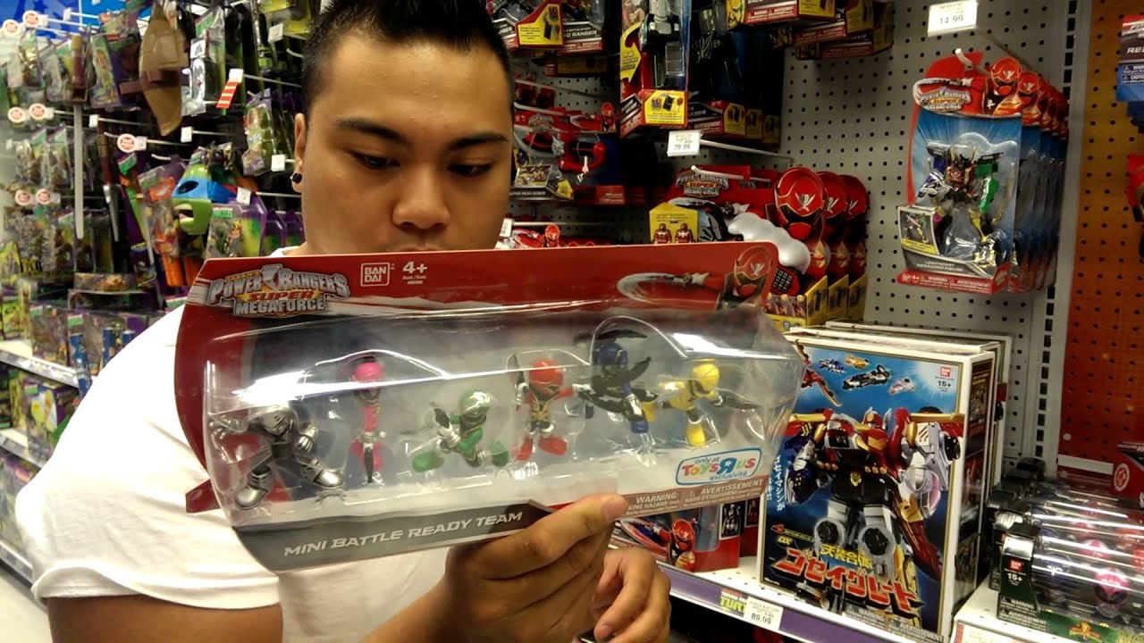 Toys Are Us Toys For Boys : Power rangers super megaforce at my toys r us youtube